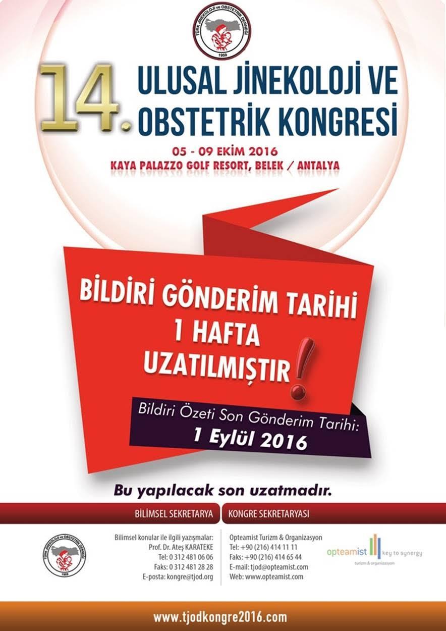 14. Ulusal TJOD Kongresi