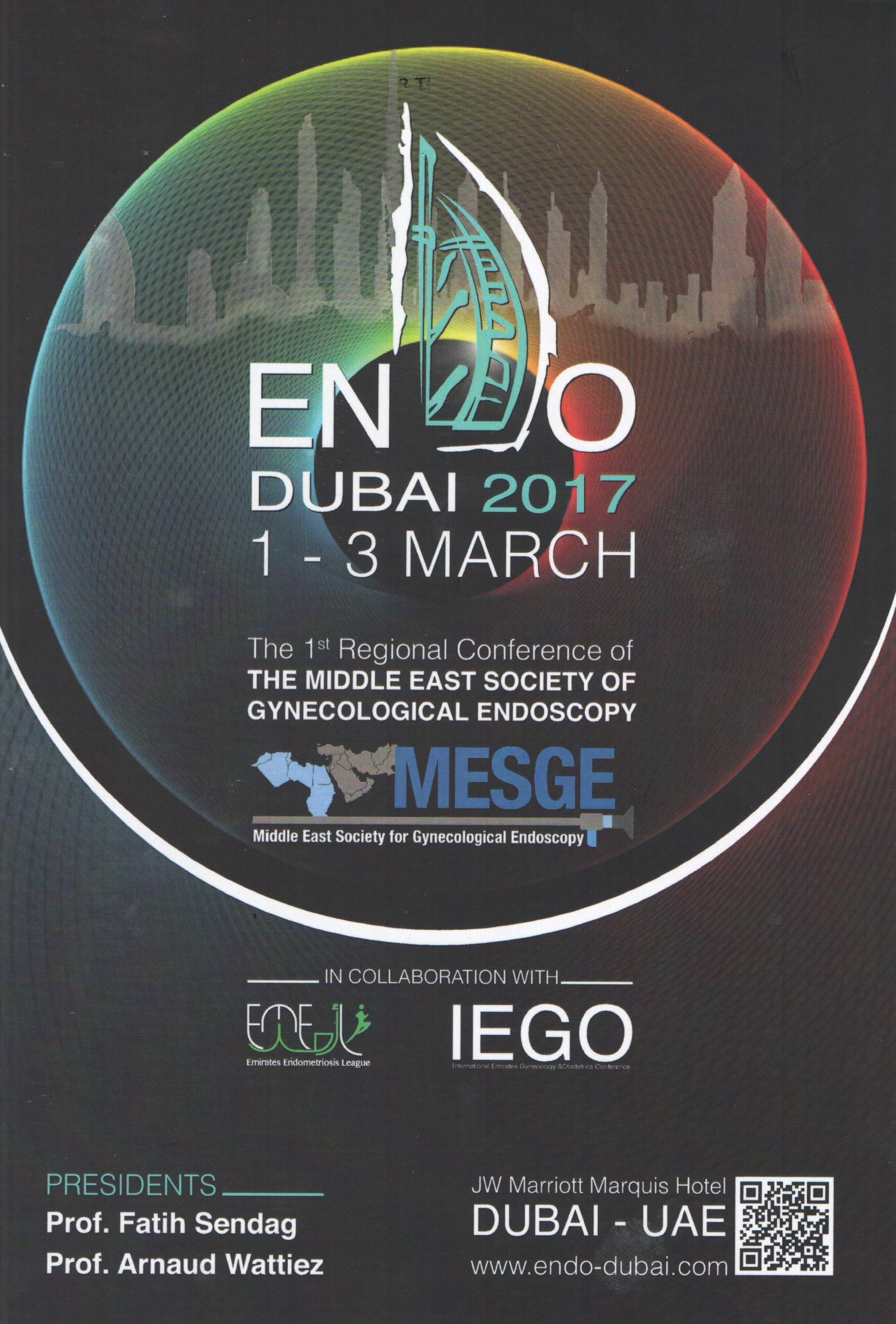 The 1st Regional Conference of The Middle East Society Of Gynecological Endoscopy