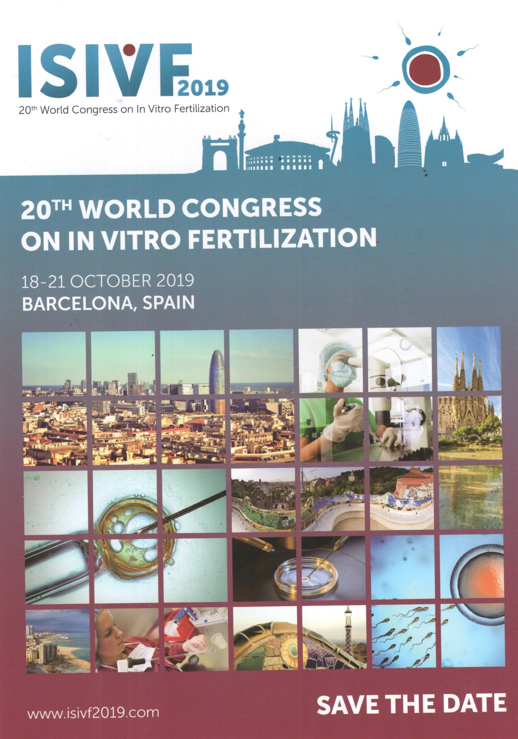 20TH WORLD CONGRESS ON IN VITRO FERTILIZATION