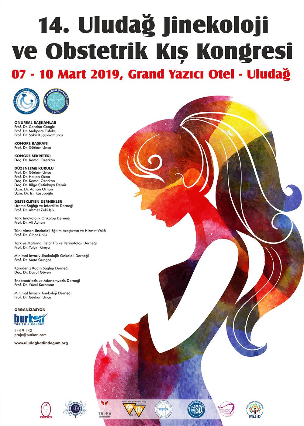 14. Uludağ Jinekoloji ve Obstetrik Kış Kongresi